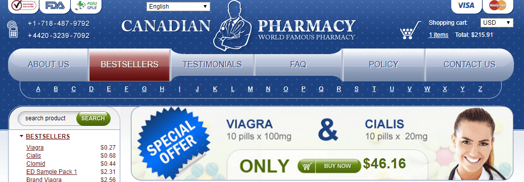 Online Pills, a Canadian Pharmacy