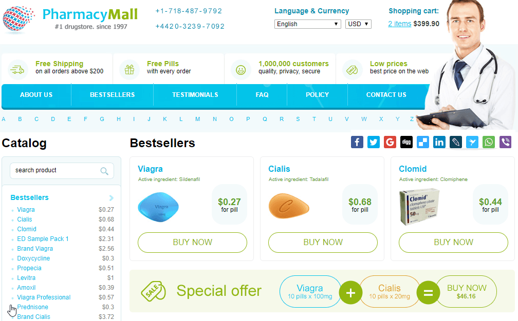 Best Online Pharmacy - Choosing A Perfect Drugstore and Avoiding Scammers