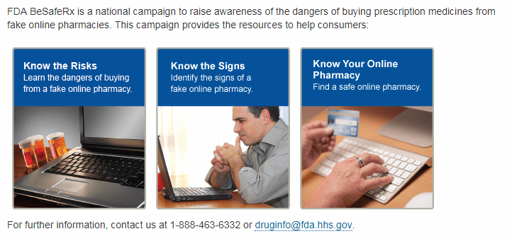 FDA Reminds Consumers of Dangers
