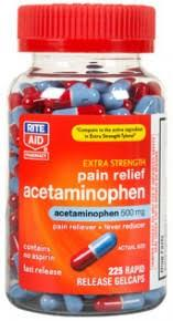 Acetaminophen Capsule Brand for Pain Relief