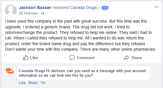Canada Drugs Pharmacy Review