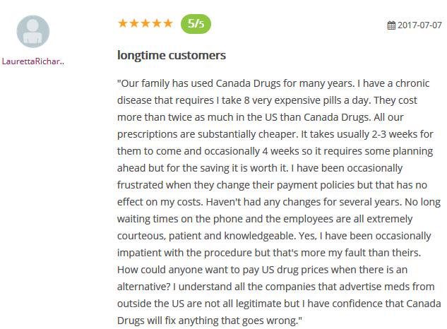 Online Drugstore Canada Review
