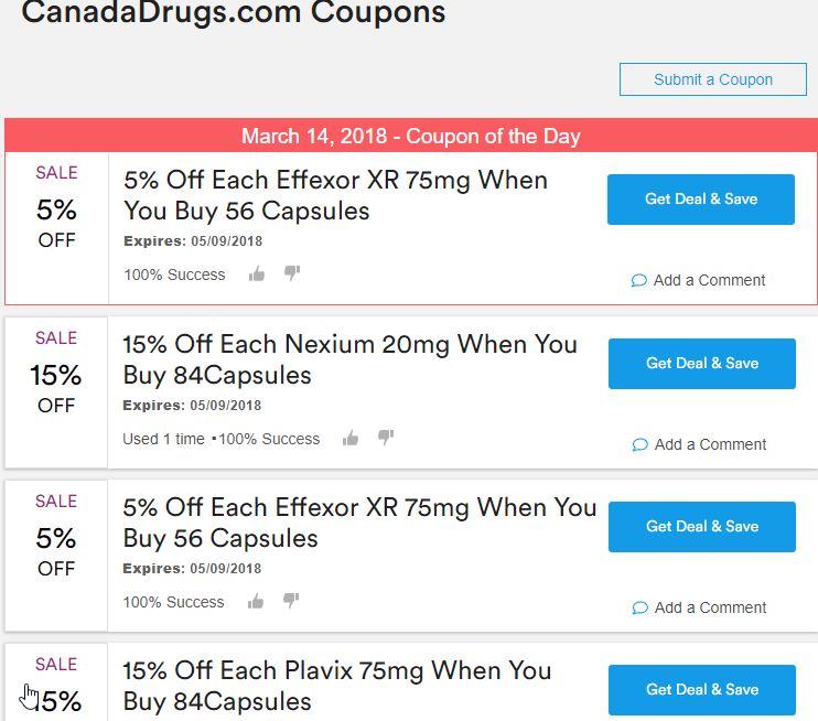 Canada Drugs Coupon Codes