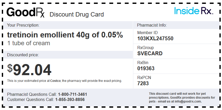 Good Rx Discount Coupon