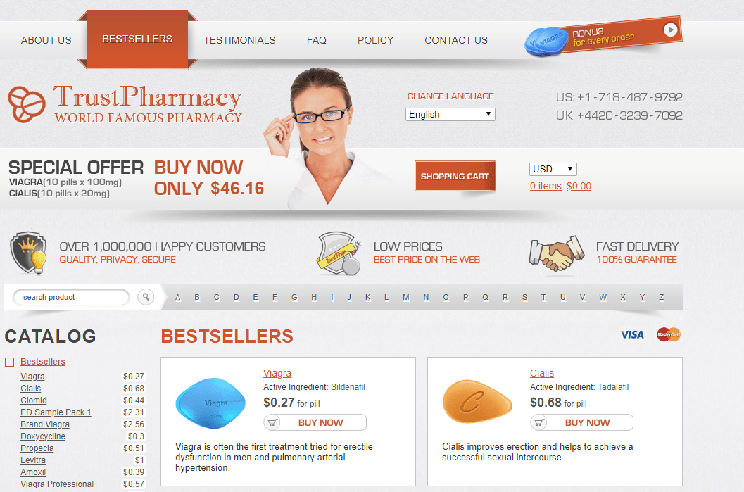 Trust Pharmacy, the Best Pharmacy to Buy Viagra Cheap